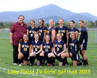 JV Girls' Softball '13